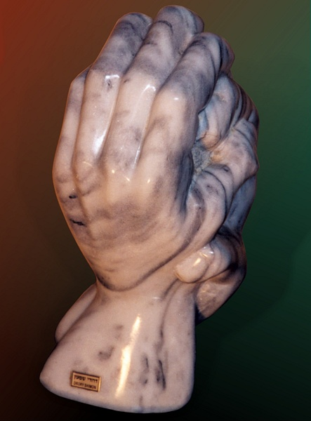 Hands of a sculptor by Shimon Drory by Shimon Drory