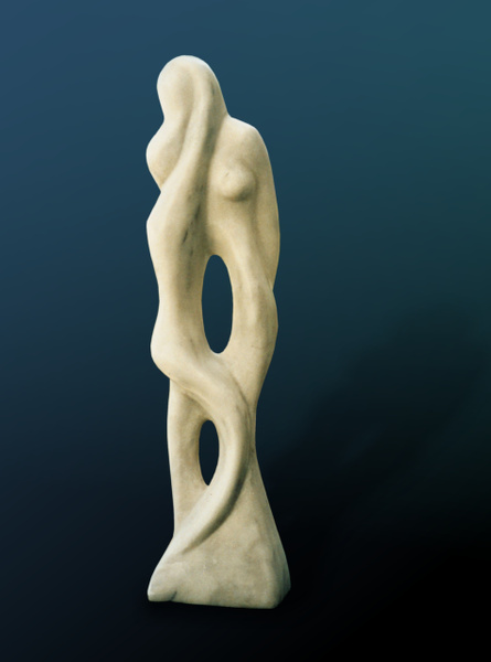 Mother And Child2 by Shimon Drory by Shimon Drory