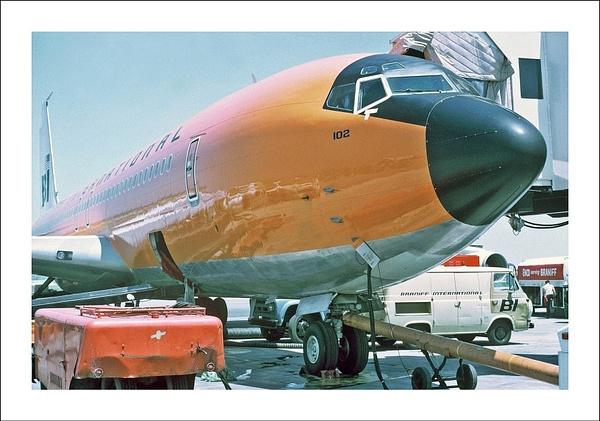 Braniff Airways Boeing 707-327C c by Maurizio Pierotti