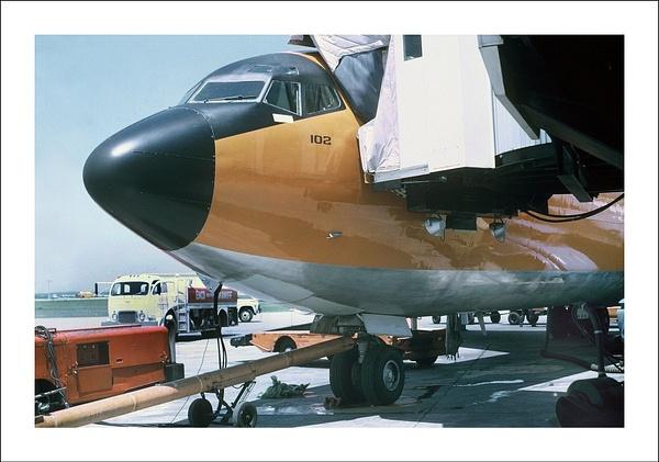 Braniff Airways Boeing 707-327C by Maurizio Pierotti