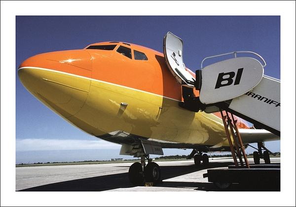 Braniff Airways Boeing 727-100 cv by Maurizio Pierotti