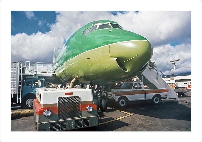 Braniff Airways Douglas DC-8 hj