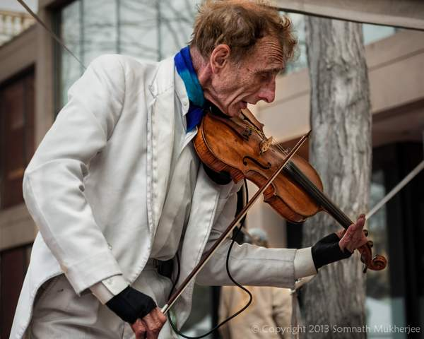The Violinist | Pearl Street Mall, Boulder, CO | May, 2013
