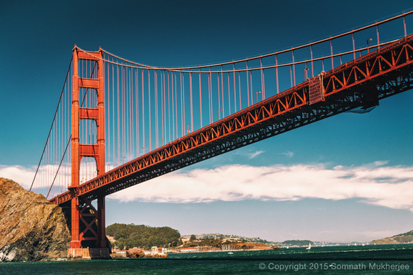Golden Gate Bridge | San Francisco, CA | August, 2014
