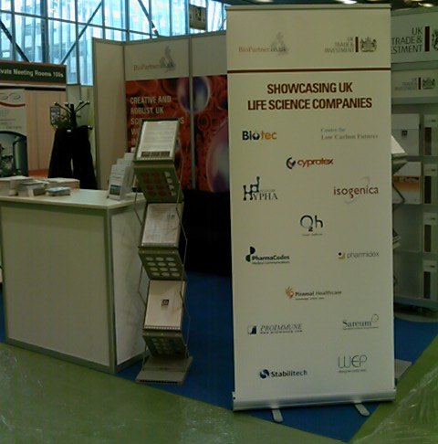The UK Stand by BioPartnerUK