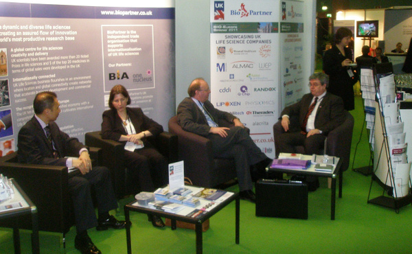 Delegates At The Stand 2 by BioPartnerUK