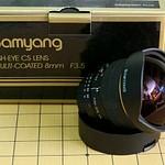 Samyang 8mm WTS