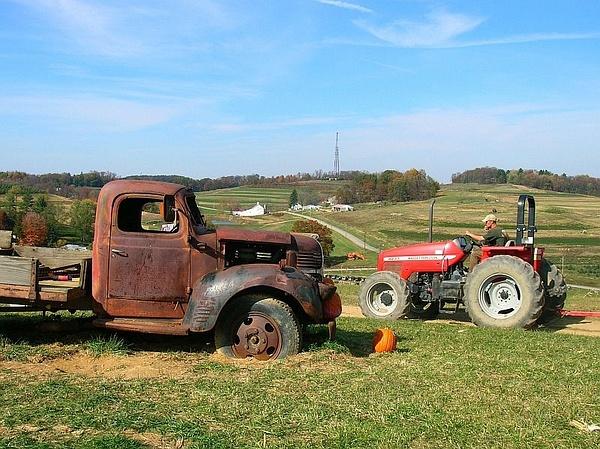 Trax Farms by PaulKane