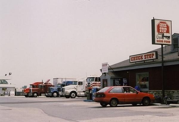 Truck Stop by PaulKane