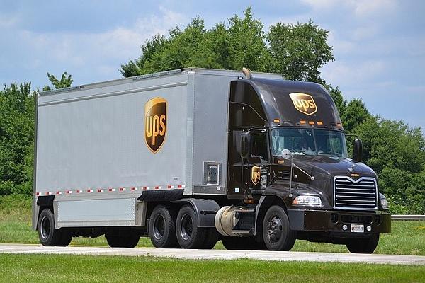 UPS by PaulKane