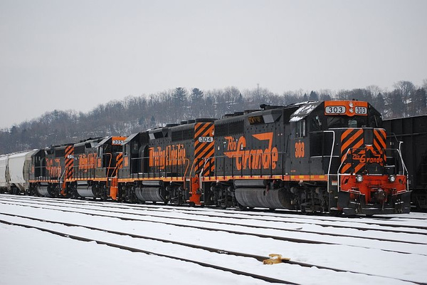 Railroad by PaulKane