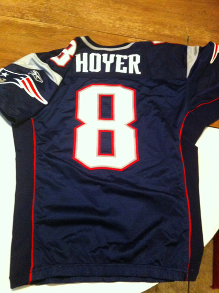 Brian Hoyer New England Patriots by JasonPerlman