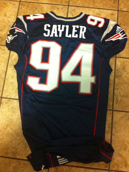 Jayce Sayler New Englans Patriots by JasonPerlman