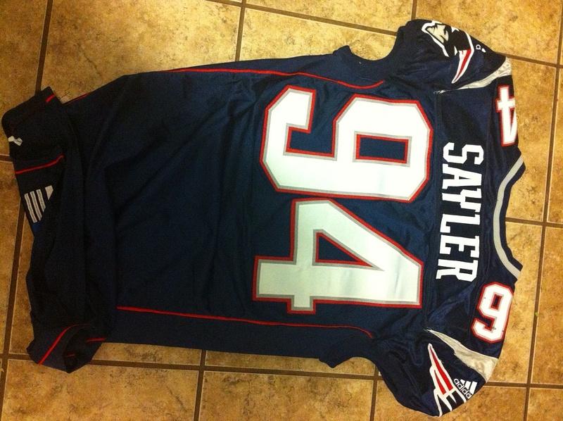 Jayce Sayler New Englans Patriots