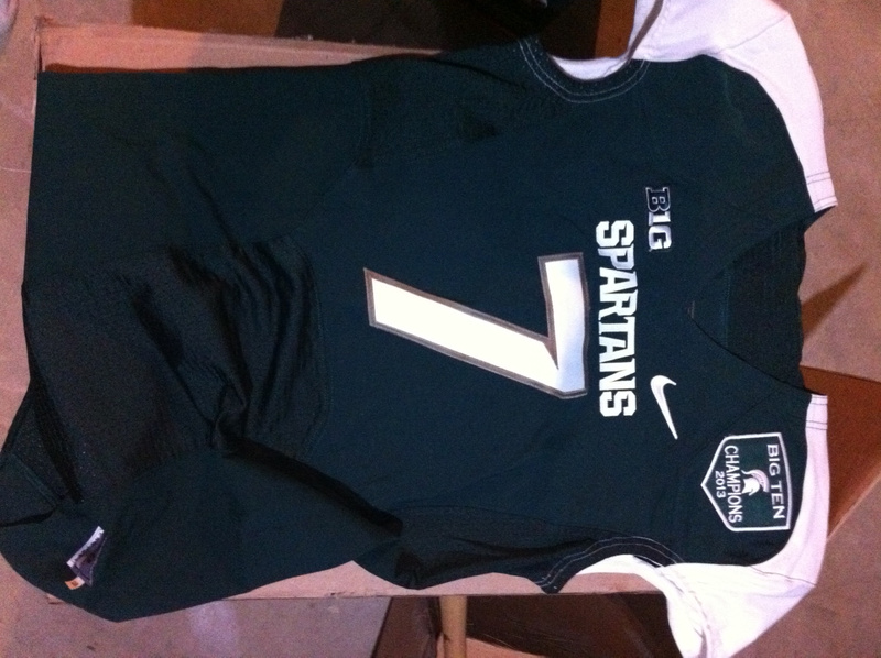 Tyler O'Connor Michigan State Spartans