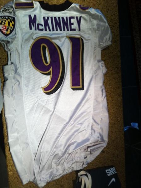 Brandon McKinney Baltimore Ravens by JasonPerlman