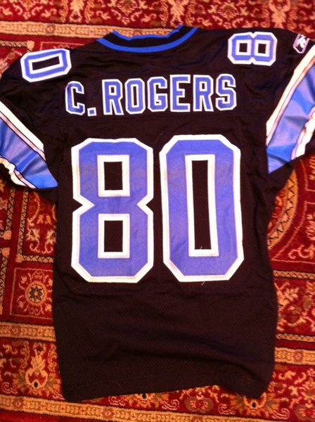 Charles Rogers Detroit Lions by JasonPerlman