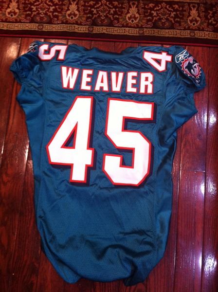 Ross Weaver Miami Dolphins by JasonPerlman