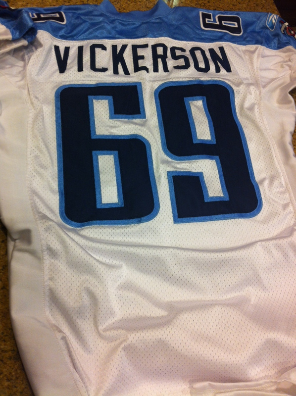 Kevin VIckerson Tennessee Titans