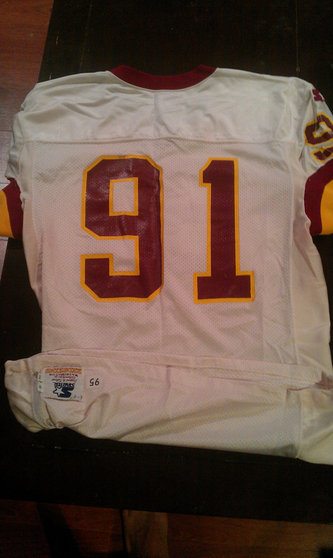 Matt Vanderbeek Washington Redskins