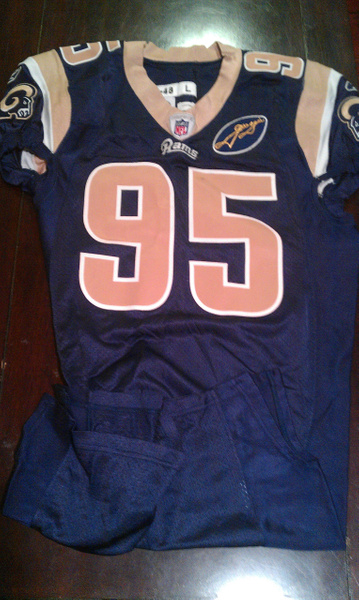 Clifton Ryan St. Louis Rams by JasonPerlman