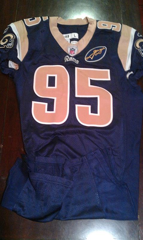 Clifton Ryan St. Louis Rams