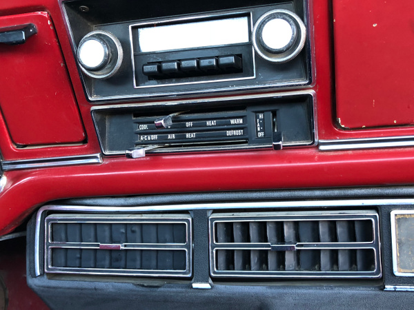 Ford red and white by Johnnathan