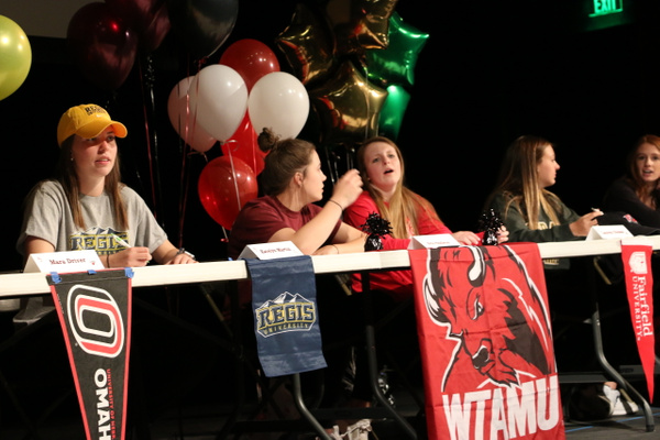RJ1718 NLI Signing Day 04.11 (40) by Regis Jesuit High...