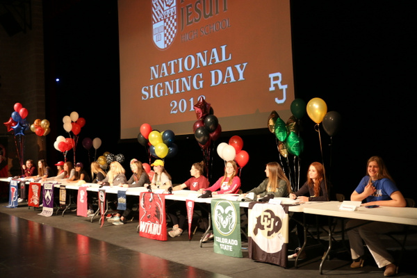 RJ1718 NLI Signing Day 04.11 (44) by Regis Jesuit High...