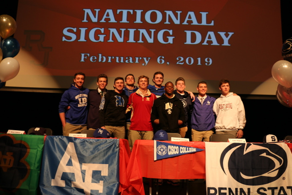 NLI Signing Day - February 6, 2019 by Regis Jesuit High...