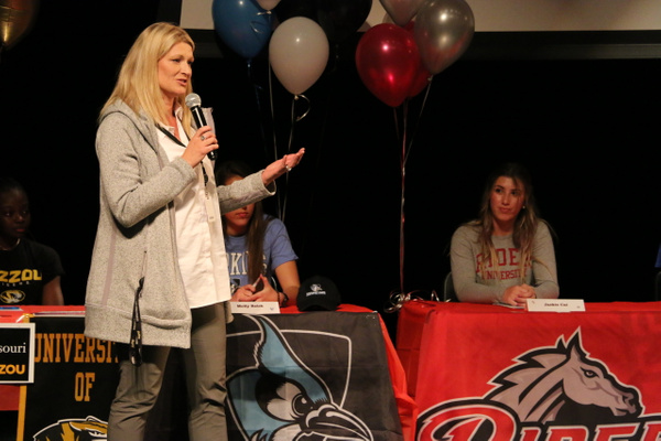 RJ1819 NLI Signing Day 04.18 (19) by Regis Jesuit High...