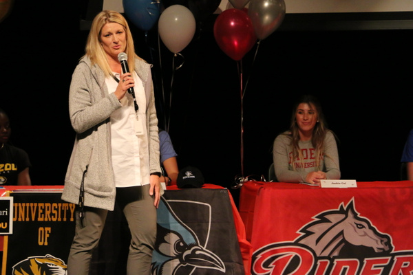 RJ1819 NLI Signing Day 04.18 (20) by Regis Jesuit High...