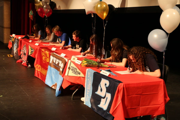 RJ1819 NLI Signing Day 04.18 (38) by Regis Jesuit High...