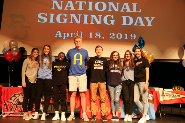 RJ1819 NLI Signing Day 04.18 (43) by Regis Jesuit High...
