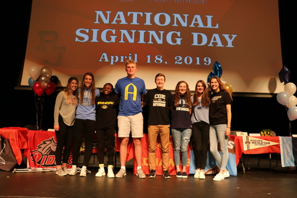 RJ1819 NLI Signing Day 04.18 (45) by Regis Jesuit High...