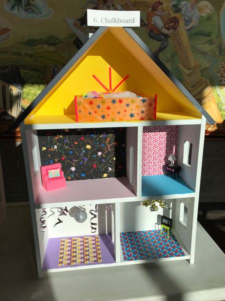 RJ1920 Geometry Tiny Tiny Houses - 6. Chalkboard by...