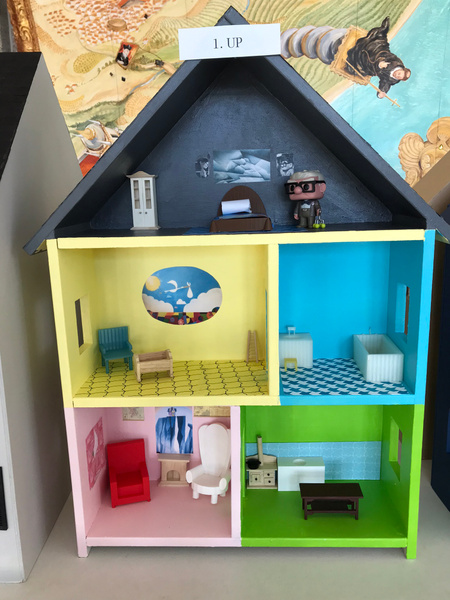 RJ1920 Geometry Tiny Tiny Houses - 1. UP by Regis Jesuit...