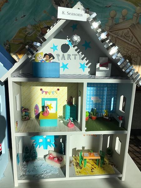 RJ1920 Geometry Tiny Tiny Houses - 8. Seasons by Regis...