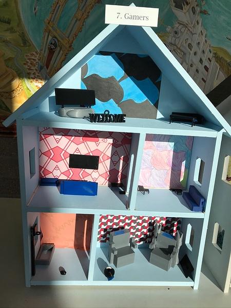 RJ1920 Geometry Tiny Tiny Houses - 7. Gamers by Regis...