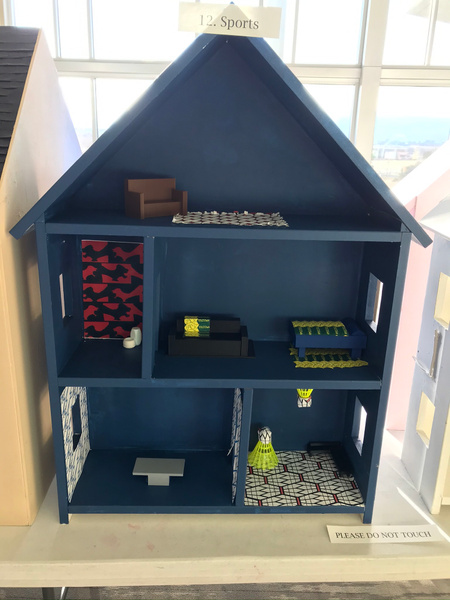 RJ1920 Geometry Tiny Tiny Houses - 12. Sports by Regis...