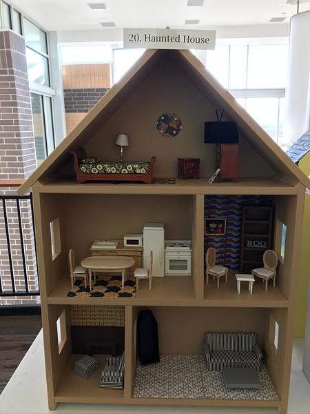 RJ1920 Geometry Tiny Tiny Houses - 20. Haunted House by...