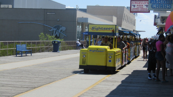 Wildwood New Jersey tram car by MikaylahCarston-miller