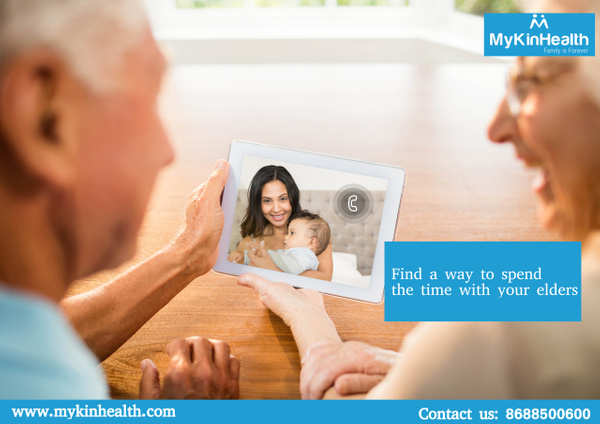 Find a way to spend a quality of time with your elders by Mykinhealth