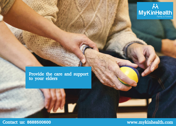 Provide the support to your elders by Mykinhealth