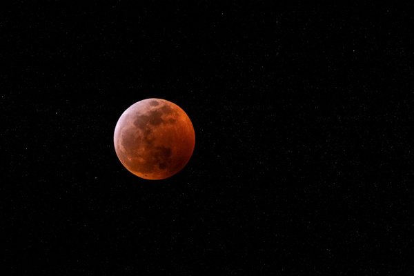Blood Moon in Full Eclipse