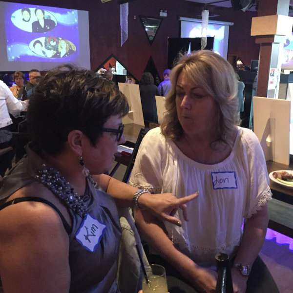 Kim H and Lori T by MTS Mobility Reunion Pics