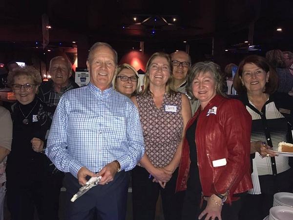 Linda Sloane, Gary Enns, Roger Ballance, Lisa  Karmazenuk,Chris Jonsson,John MacLise, Lisa Lawrence, by MTS Mobility Reunion Pics