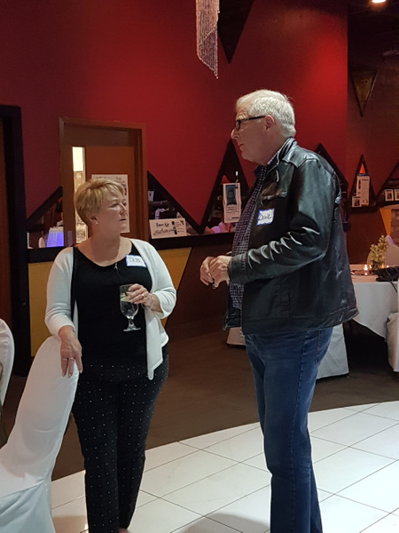 Deb McCreanor & Dave Moist by MTS Mobility Reunion Pics
