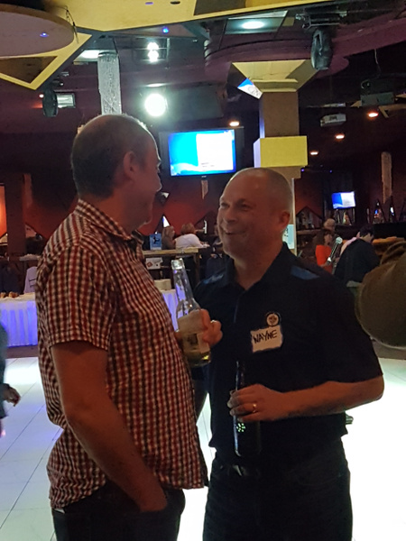 Gary Wells & Wayne King by MTS Mobility Reunion Pics