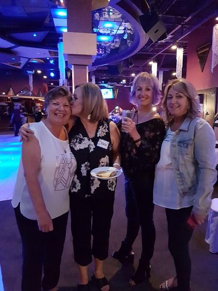 Joyce, Debi O, Kim P & Laurie by MTS Mobility Reunion Pics